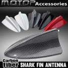 Carbon Fiber BMW Style Dummy Shark Fin Roof Decorative Aerial Antenna Decoration