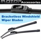"1pc 15"" 375mm OEM Bracketless Frameless Window Windshield Wiper Blade Wiper"