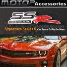 3D Metal SSR Racing Front Hood Grille Badge Emblem SSR Logo