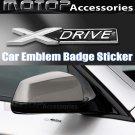 X-Drive 3D Metal X DRIVE Racing Front Badge Emblem Sticker Decal Self Adhesive