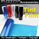 "BLUE 12""x60"" Headlight Taillight Fog Light Tint Vinyl Film Sticker"