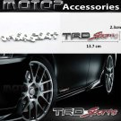 TRD-Sports 3D Metal TRD SPORTS Front Badge Emblem Sticker Decal Self Adhesive