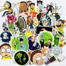 69Pcs Rick and Morty Sticker Pack Laptop Suitcase Stickers Skateboard Stickers Decoration Stickers