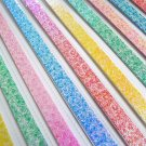 Pearlescent Rose Origami Lucky Star Paper Strips - Pack of 50 Strips