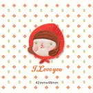 Little Girl Embroidered Patches/Self Adhesive/Iron-On/Sew-On Patch/Patch For Jeans
