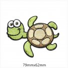 Sea Turtle Embroidered Patches/Animal Patches/Iron-On/Sew-On Patch/Patch For Jeans