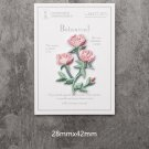 Chinese Rose Embroidered Patches/Floral Patches/Iron-On/Sew-On Patch/Patch For Jeans
