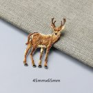 Deer/Elk/Moose Embroidered Patches/Animal Patches/Iron-On/Sew-On Patch/Patch For Jeans