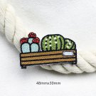 Cactus Embroidered Patches/Succulents Patches/Iron-On/Sew-On Patch/Patch For Jeans