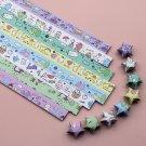 Animal Kingdom Origami Lucky Star Paper Strips Star Folding DIY - Pack of 130 Strips