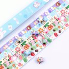 Cartoon Animals Origami Lucky Star Paper Strips Star Folding DIY - Pack of 130 Strips