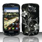 Hard Rubber Feel Design Case for Samsung Droid Charge i520 (Verizon) - Midnight Garden