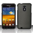 Hard Rubber Feel Design Case for Samsung Epic Touch 4G/Galaxy S2 (Sprint) - Carbon Fiber