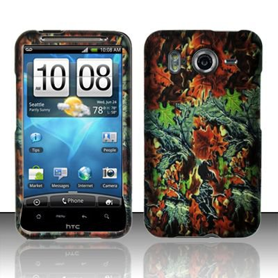 Hard Rubber Feel Design Case for HTC Inspire 4G/Desire HD - Hunter