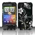 Hard Rubber Feel Design Case for HTC DROID Incredible 2 6350 (Verizon) - Midnight Garden