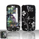 Hard Rubber Feel Design Case for Samsung Epic 4G (Sprint) - Midnight Garden