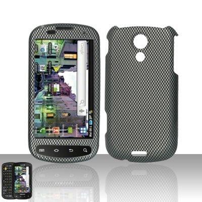 Hard Rubber Feel Design Case for Samsung Epic 4G (Sprint) - Carbon Fiber