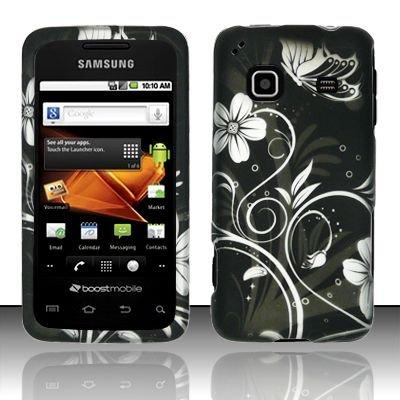 Hard Rubber Feel Design Case for Samsung Galaxy Prevail - Midnight Garden