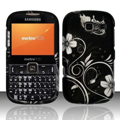 Hard Rubber Feel Design Case for Samsung Freeform 3/Comment - Midnight Garden