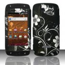 Hard Rubber Feel Design Case for Samsung Sidekick 4G - Midnight Garden