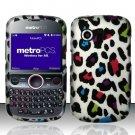 Hard Rubber Feel Design Case for Huawei Pillar/Pinnacle - Colorful Leopard
