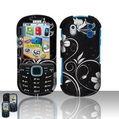 Hard Rubber Feel Design Case for Samsung Intensity 2 - Midnight Garden