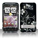 Hard Rubber Feel Design Case for HTC ThunderBolt 4G (Verizon) - Midnight Garden
