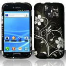 Hard Rubber Feel Design Case for Samsung Hercules/Galaxy S2 - Midnight Garden