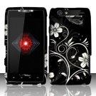 Hard Rubber Feel Design Case for Motorola Droid RAZR XT912 (Verizon) - Midnight Garden