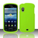 Hard Rubber Feel Plastic Case for Samsung Stratosphere - Neon Green