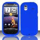 Soft Premium Silicone Case for HTC Amaze 4G (T-Mobile) - Blue