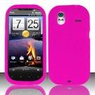Soft Premium Silicone Case for HTC Amaze 4G (T-Mobile) - Pink