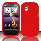 Soft Premium Silicone Case for HTC Amaze 4G (T-Mobile) - Red