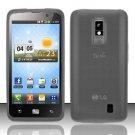 TPU Crystal Gel Case for LG Spectrum/Revolution 2 VS920 - Smoke