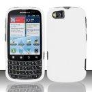 Hard Rubber Feel Plastic Case for Motorola Admiral XT603 (Sprint) - White