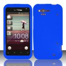 Soft Premium Silicone Case for HTC Rhyme (Verizon) - Blue