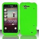Soft Premium Silicone Case for HTC Rhyme (Verizon) - Neon Green