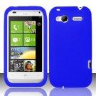 Soft Premium Silicone Case for HTC Radar 4G (T-Mobile) - Blue