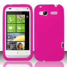 Soft Premium Silicone Case for HTC Radar 4G (T-Mobile) - Pink