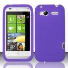 Soft Premium Silicone Case for HTC Radar 4G (T-Mobile) - Purple