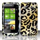 Hard Rubber Feel Design Case for HTC Radar 4G (T-Mobile) - Cheetah
