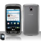 Hard Transparent Plastic Case for LG Optimus T/Phoenix/Thrive (T-Mobile/AT&T)