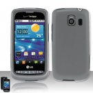 Hard Transparent Plastic Case for LG Vortex VS660 (Verizon)
