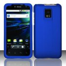 Hard Rubber Feel Plastic Case for LG Optimus 2X/G2x - Blue