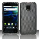 Hard Rubber Feel Design Case for LG Optimus 2X/G2x - Carbon Fiber