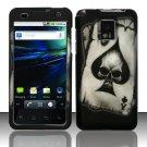 Hard Rubber Feel Design Case for LG Optimus 2X/G2x - Spade Skull