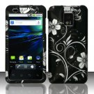 Hard Rubber Feel Design Case for LG Optimus 2X/G2x - Midnight Garden