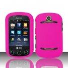Hard Rubber Feel Plastic Case for Pantech Pursuit II P6010 - Pink