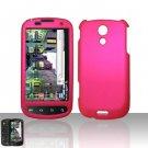 Hard Rubber Feel Plastic Case for Samsung Epic 4G - Purple