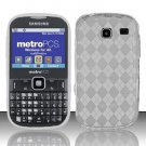 TPU Crystal Gel Case for Samsung Freeform 3/Comment - Clear